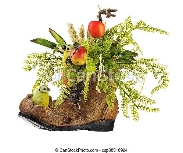 Hecho Artificial Arreglo Floral Fruits Flores
