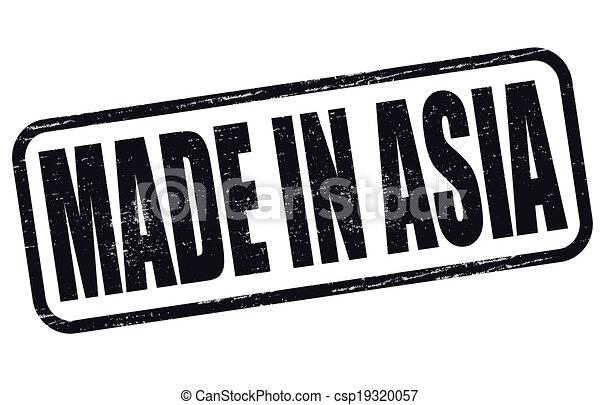 Hecho en Asia - csp19320057