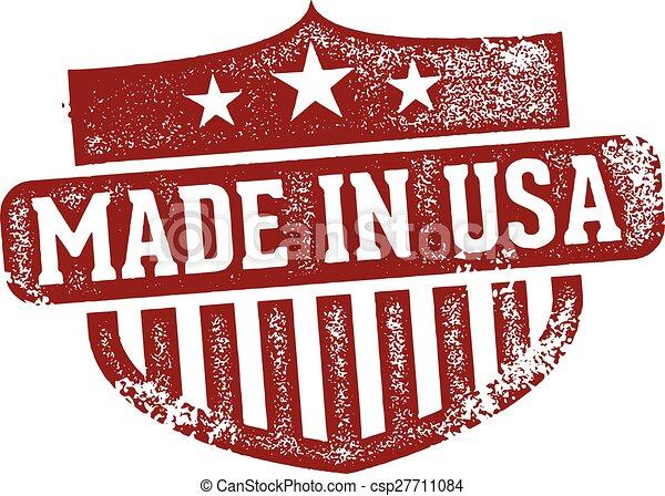 Hecho en EE.UU - csp27711084