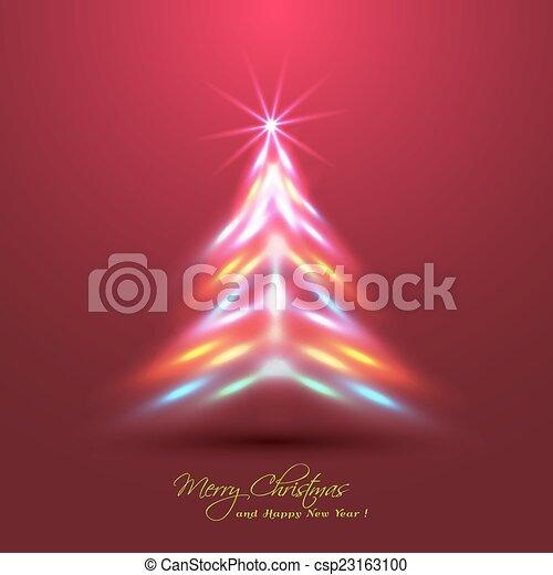 Hecho ne n rbol efecto luces navidad clipart - Arbol de navidad hecho de luces ...