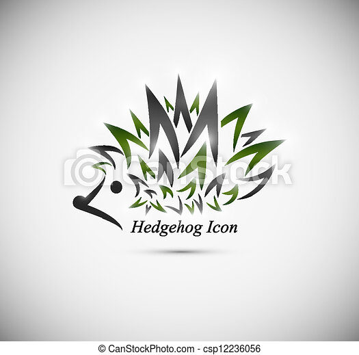Hedgehog icon - csp12236056