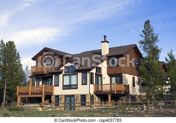 hegy, épület - csp4037783