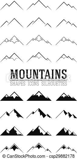 hegyek, állhatatos - csp29882178