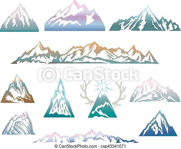 hegyek, állhatatos - csp43341071