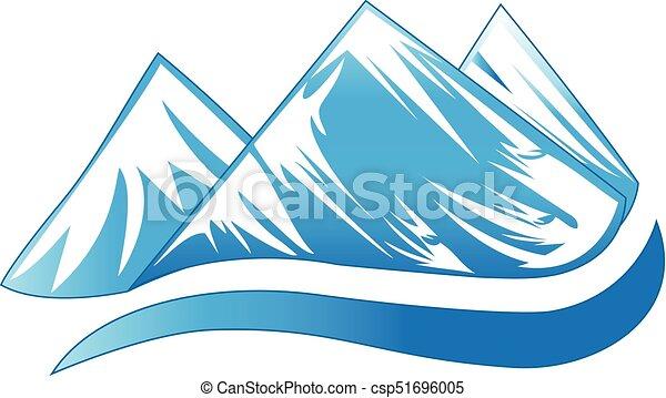 hegyek, jel - csp51696005