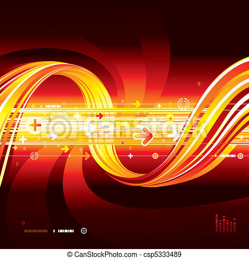 heiß, anschluss - csp5333489