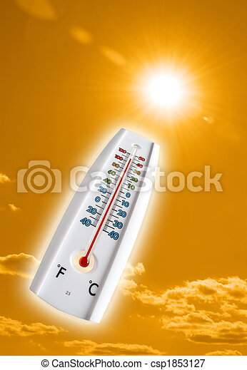 heiß, himmelsgewölbe - csp1853127
