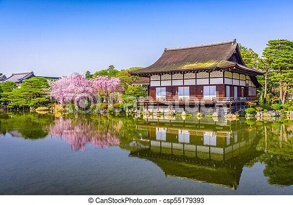 Heian Shrine Japan - csp55179393