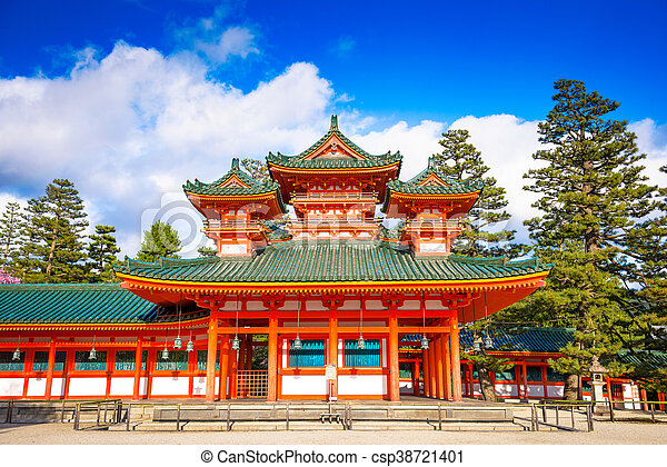 Heian Shrine of Kyoto - csp38721401