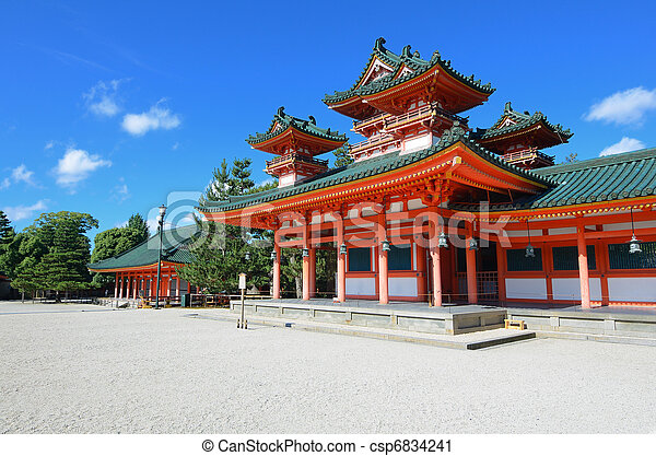 Heian Shrine - csp6834241