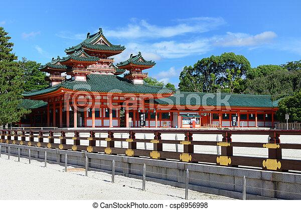 Heian Shrine - csp6956998