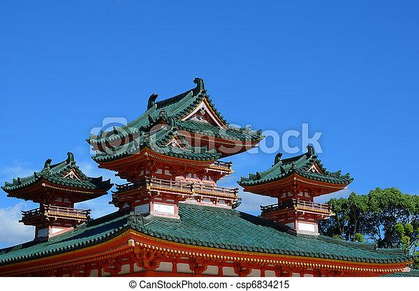 Heian Shrine - csp6834215