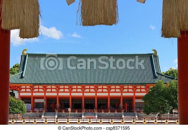 Heian Shrine - csp8371595