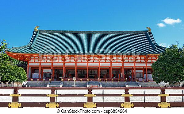 Heian Shrine - csp6834264