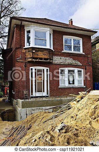 heimrenovierung, außen - csp11921021
