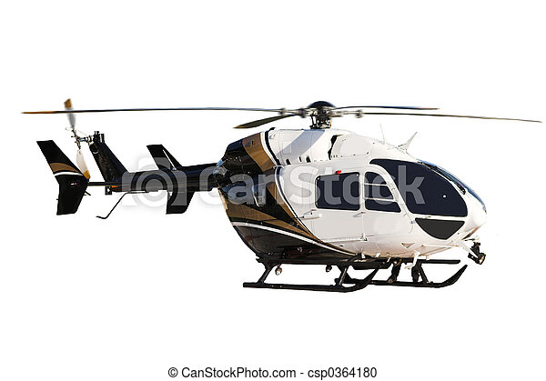 helecopter (isolated) - csp0364180