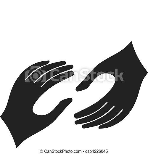 helfende hände - csp4226045