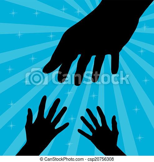 helfende hand - csp20756308