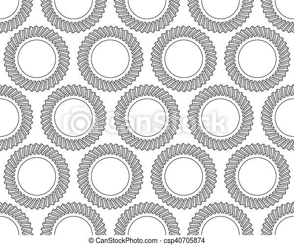 Helical gear pattern - csp40705874