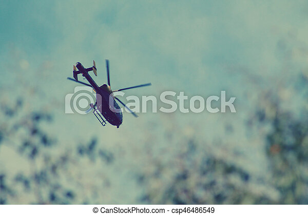 Helicopter 1 - csp46486549