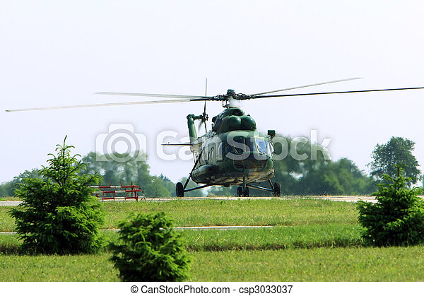helicopter - csp3033037