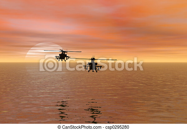 helicopter - csp0295280