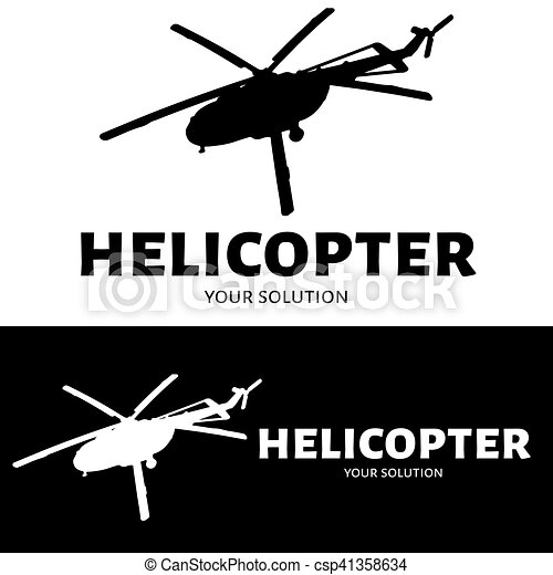 helicopter logo vector brand s logo in the form of a helicopter
