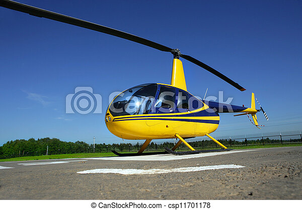 helicopter - csp11701178