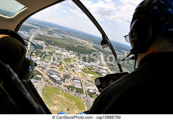 Helicopter Ride - csp10888789