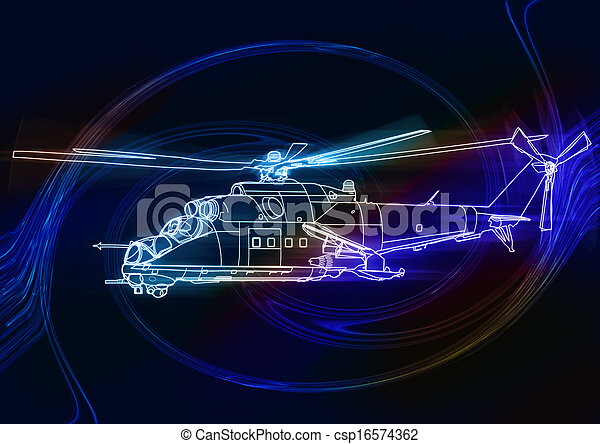 Helicopter - csp16574362