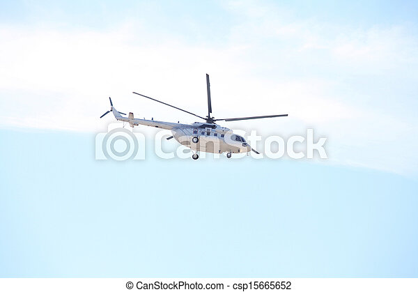 helicopter - csp15665652