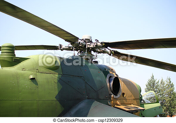 helicopter  - csp12309329