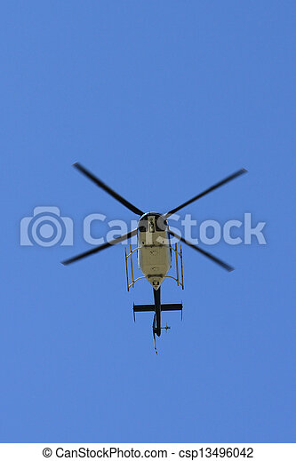 Helicopter - csp13496042