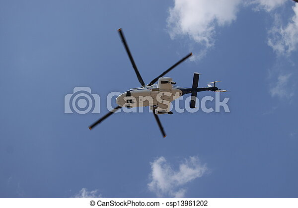 Helicopter - csp13961202
