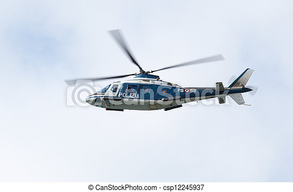 Helicopter - csp12245937