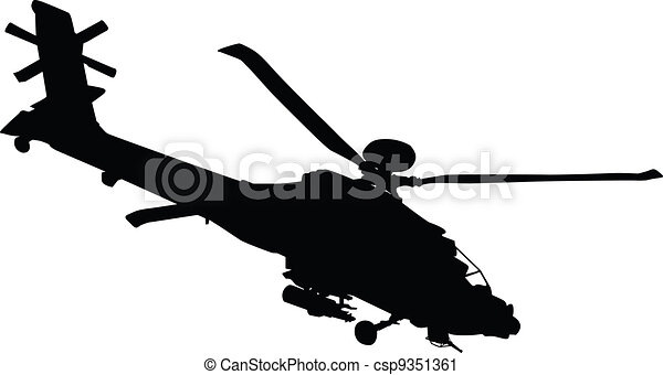 Helicopter - csp9351361