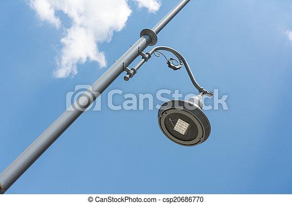 heller pole, straße - csp20686770