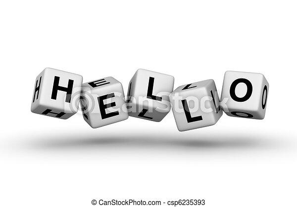 hello - csp6235393