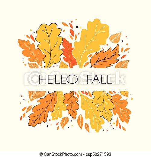Hello Fall Card   Csp50271593