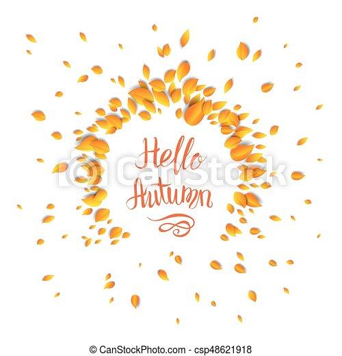 Hello Fall Card   Csp48621918