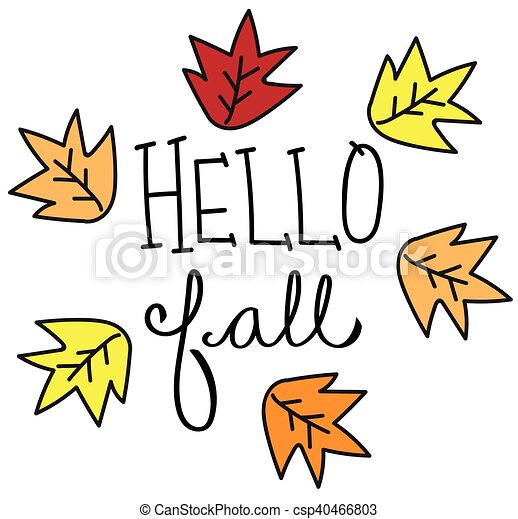 hello fall leaves vector clipart search illustration drawings and rh canstockphoto com fall leaves vector background fall leaves vector image