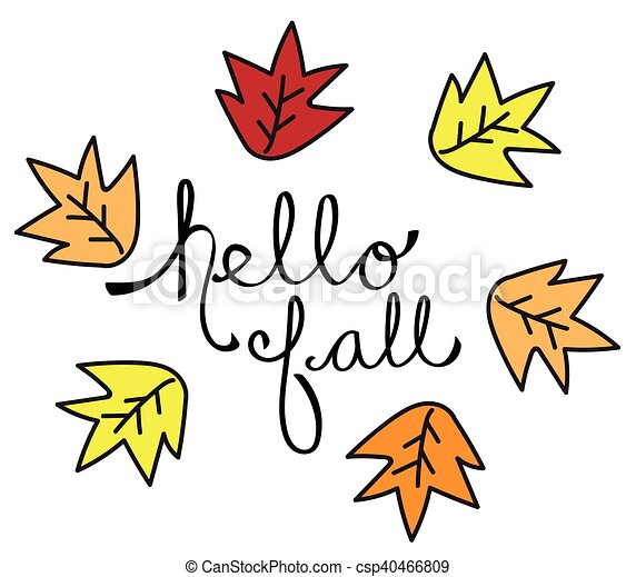 hello fall leaves vector clipart search illustration drawings and rh canstockphoto com fall leaves vector clip art fall leaves vector clip art