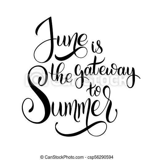 june is the gateway to summer hello june lettering elements for rh canstockphoto com christmas seasons greetings clipart seasons greetings clip art free