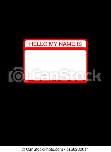 hello tag - csp0232011