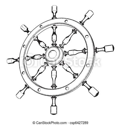Helm Steering Wheel  - csp6427289