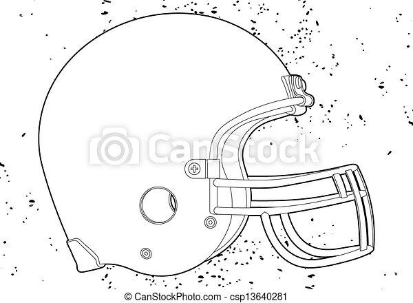 helm, voetbal - csp13640281