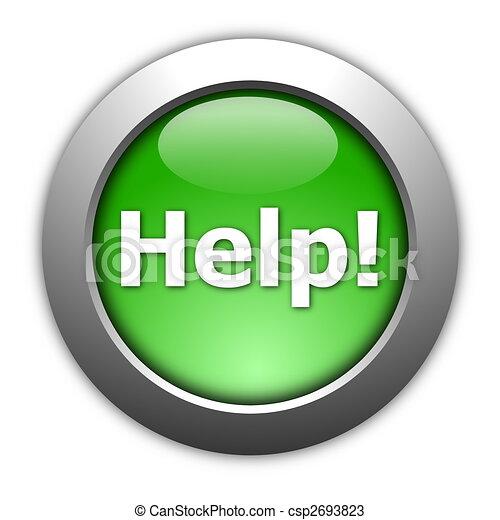 help butten - csp2693823