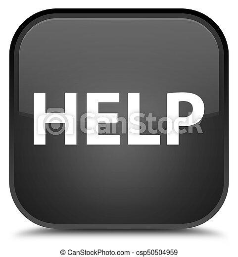 Help special black square button - csp50504959