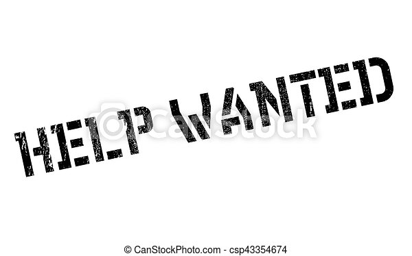 help wanted stamp grunge design with dust scratches vectors rh canstockphoto com help wanted clipart free help wanted clip art free