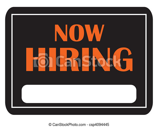 help wanted a black and orange now hiring sign with copy stock rh canstockphoto com School Clip Art To Do List Clip Art